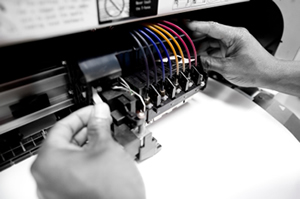 Service and repair for printers, copiers, and plotters